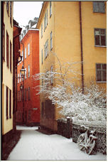 Old-town in Stockholm - Copyright © 2007 by littlered