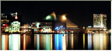 Moonrise, Baltimore MD (sorry Ansel) - Copyright © 2007 by vinman44