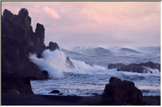 Yaquina Waves - Copyright © 2007 by Shirley D. Cross