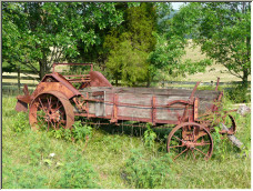 Old wagon - Copyright © 2007 by Ginny Padgette